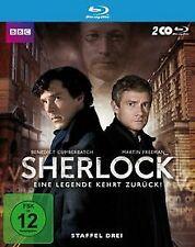 Sherlock - Staffel 3 [Blu-ray] von McGuigan, Paul | DVD | Zustand sehr gut