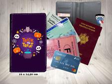 halloween - trick or treat 010 porte cartes permis passeport grise