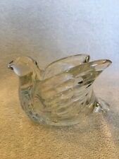 Gorgeous! Avon Glass Dove Candle Cup