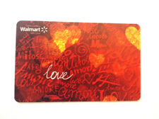 LIMITED GIFT CARD FROM WALMART LOVE AMOR FD59571 BILINGUAL NO VALUE *new*