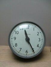 Pendule électrique vintage industriel loft Simplex Made in USA N°507-042
