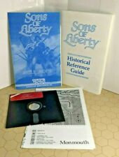 Sons of Liberty (Apple II 1987 Strategic Simulations Inc SSI) W/ Manual & More