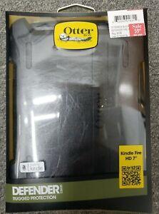 "OTTERBOX Kindle Fire HD 7"" 1st Gen Black Otterbox Defender Series Case 77-26119"