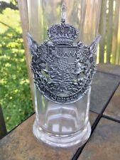 Bayern Bavaria Coat of Arms Lion German Pewter Beer Stein Neuschwanstein ❤️J8