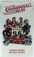 The Cannonball Run (VHS 1981) Burt Reynolds Farrah Fawcett Dom DeLuise