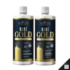 Salvatore Blue Gold Tanino Progressive Brush Brazilian Keratin Treatment 1L 34oz