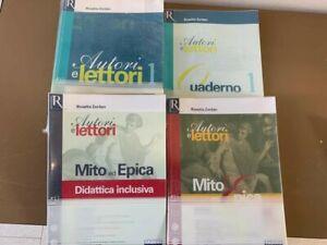 Autori e Lettori Vol.1. 2 libri + Quaderno + Didattica incl. ISBN: 9788891506511