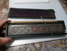 Vintage Calculator Addometer, case broken, Shows age but works well