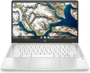 "HP 14"" Google Chromebook Laptop Intel Celeron N4020 4GB 64GB eMMC White"