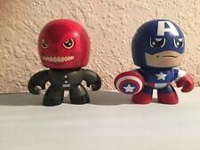 Mighty Muggs The Avengers Captain America vs Red Skull 2 pack