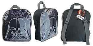 NEW OFFICIAL STAR WARS DARTH VADER BACKPACK CHILDRENS SCHOOL BAG