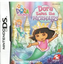 [MANUAL] Nintendo DS DORA SAVES THE MERMAIDS Instruction Booklet