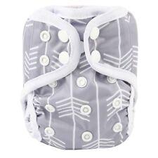 2018 NEWBORN Cloth Diaper Cover Baby Nappy Reusable 2 Leg Gusset 8-10lbs Arrow