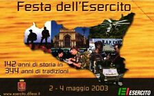 USATA MAGNETIZZATA GOLDEN 148 EX 1646 (C&C F 3728) FESTA DELL'ESERCITO 2003