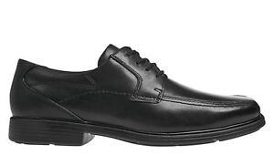 Dunham Douglas Black Leather Lace Up US 10.5 D