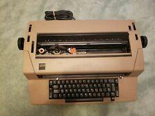Vintage Ibm Electric Typewriter Biege Works