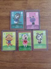 Labelle, Tutu+3 Never Scanned Animal Crossing Amiibo Card in Sleeve & Top Loader