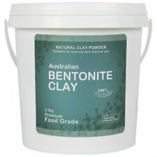 Bentonite Clay Powder - 2.5 Kilo Australian FOOD GRADE - Healing-Detox