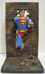 Christopher Reeve SUPERMAN AURORA TRIBUTE RESIN STATUE PRO BUILD & PAINT Rare