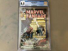 Marvel Fanfare #12--CGC 8.5--Black Widow story!