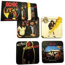AC/DC Untersetzer Set 4 Stück Coaster Set Bierdeckel Highway To Hell Powerage