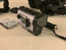 Sony FDR-X3000 4k Action Camcorder & Action Cam Accessory Bundle