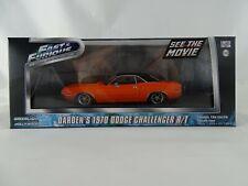 1:43 Minichamps #86207 dardens 1970 Dodge Challenger R/T presque & Furious Lmtd.