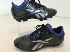 Kids Youths Reebok Football Footy Boots Grey Uk13/31 Moulded Studs