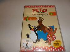 DVD   Petzi und seine Freunde 01: Petzi als Bergsteiger und weitere Abenteuer