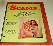 SCAMP May 1962~Vol.5 #6~Vtg. Pin-Up Magazine~BILL WENZEL & BOB TUPPER Cartoons