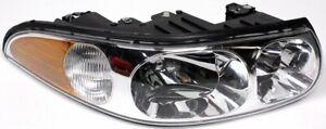 OEM Buick Lesabre Custom Left Driver Side Halogen Headlamp Lens Crack