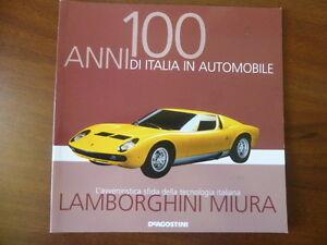 Booklet LAMBORGHINI MIURA rare 30 PAGES