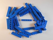 LEGO 1X6 BRICKS. BLUE. LOT OF 100. Free shipping!!