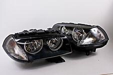 BMW X3 E83 2006-2010 Facelift Halogen Headlights Front Lamps PAIR OEM