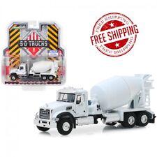 2019 Mack Granite Cement Mixer White S.D. Trucks Series 8 1 64 Diecast Model by