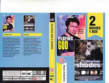 Playing God-1997-David Duchovny/Shades-1999-2 Movie-DVD