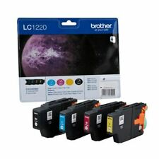 Brother LC-1220 CMYB Ink Value Pack Pk4 - BA56293