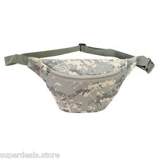 Digital Camo Fanny Pack Waist Bag Prefect for Hiking, Camp and Outdoor Activity