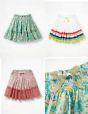 New Mini Boden Twirly Skirt 3-12 years floral rainbow