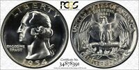 1954 Proof Silver 25c Washington Quarter PCGS PR67 Unc Superb Gem Coin Low Pop