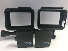 GoPro HERO5 / HERO6 Frames x2 + Replacement Batteries x2 - 100% Genuine