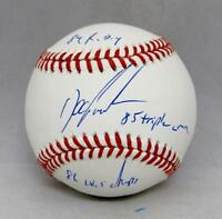 Doc Gooden Autographed Rawlings OML Baseball With 3 Inscriptions- JSA W Auth