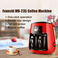 220V Fxunshi MD-235 Home Office Coffee Filter Maker Machine with Ceramic Cups