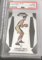 2017 Panini Prizm Lonzo Ball ROOKIE RC #289 PSA 10 GEM MINT