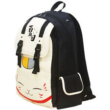 Anime Natsume's Book of Friends PU Leather Backpack School Bag Ourdoor Fashion