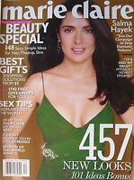 SALMA HAYEK December 2004 MAIRE CLAIRE Magazine VICKY ANDREN