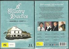 A COUNTRY PRACTICE TV SERIES 6 PART 2 SHANE PORTEOUS GREAT NEW 11 DVD BOX SET