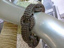Magnificent 1900s ETRUSCAN  800 Silver Hallmarked  240 Etruscan florets Bracelet