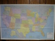 25x38 Hammond Superior United States Map, Wall Poster, New