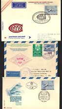 AUSTRIA 1950-60's COLLECTION OF 12 COVERS & CARDS SOME